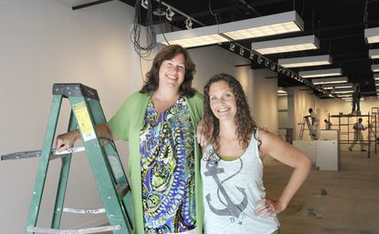 Nancy Kline and her daughter Emily Schramm are partners in Uptown Cheapskate.