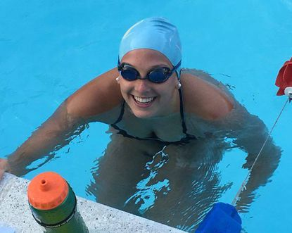 CAA swimmer and Howard High School student Morgan Liberto qualfied for an Olympic Trial cut in the women's 200-backstroke.
