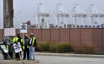 Baltimore, Md -- Members of ILA Local 333, the port of Baltimore's largest dockworkers' union, went on strike for three days in October 2013, precipitating an 18-month contract standoff with employers. The union's international stepped in amid infighting and took control of the local through a trusteeship in late 2014.