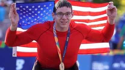 Mount Airy's Daniel Romanchuk follows Chicago Marathon wheelchair victory with New York City title