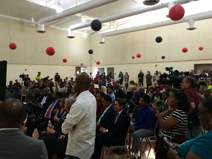 Residents demand police reform at community forum