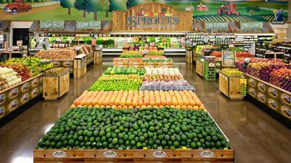 Organic grocer Sprouts Farmers Market will open its first Maryland location in Ellicott City in the first quarter of 2018.