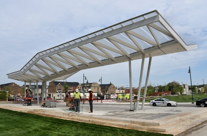 Opening of new park is a sign of east-side renewal