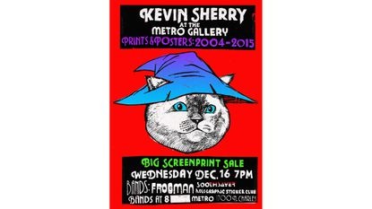 Wednesday: Kevin Sherry: Prints and Posters 2004-2015