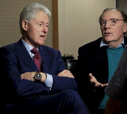 """Bill Clinton and James Patterson, authors of """"The President Is Missing."""" A Showtime pilot for a series based on the novel will be filmed in Maryland in 2020."""