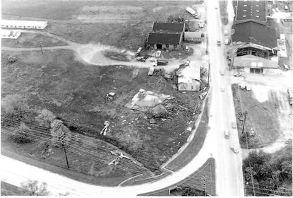 The 125 mph winds of the May 1979 Westminster tornado tore the roofs off the Shriver Canning factory buildings at Route 140 and Route 27.