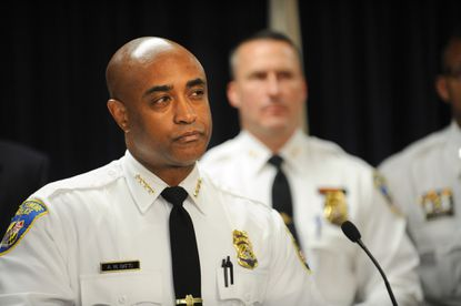 Baltimore Police Commissioner Anthony Batts says in an opinion article published in The Baltimore Sun that his reform efforts will continue, which could result in more officers being arrested or forced out.