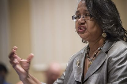 Former Maryland Del. Cheryl Glenn, a Baltimore Democrat, resigned office late last year and faces federal bribery charges.