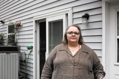 Barbara Deckert, an Elkridge resident, says airplane traffic above her house has become more frequent even after BWI opened one of its runways that was closed for construction.