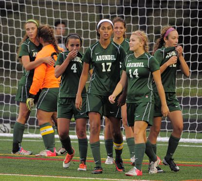 Arundel's girls soccer team fell short of its goal last year, but the Wildcats have bounced right back in 2014.