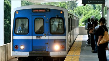 The Baltimore Metro Subway is shut down until March 11 for repairs to degraded rails.