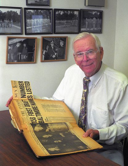 Joseph E. Howell, who was one of Baltimore's first World War II draftees and later became a vice president and general partner at Legg Mason, died Monday at the Blakehurst retirement community in Towson of heart disease.