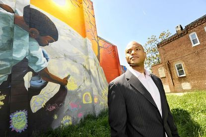 """Wes Moore is the author of """"The Other Wes Moore,"""" about how he rose from Baltimore's streets to become a global-banking strategist -- and how a namesake from the same generation ended up in prison for life."""