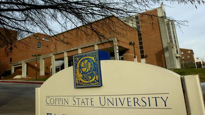 Coppin State University was once being considered as a site for a new Baltimore police academy. The Board of Estimates chose University of Baltimore instead.