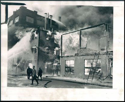 Canton waterfront fire of 1953.