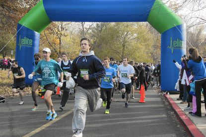 Runners from last year's Heather L. Hurd 5K Run and Mile Fun Walk start over the course. This year's sixth annual run in memory of Ms. Hurd, who was killed by a distracted driver, is Saturday, Nov. 8, at Harford Community College.