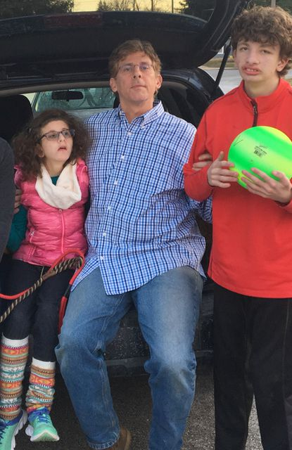 Mimi Pippen,15, and Max Pippen, 19, take daily doses of medical cannabis for their seizure disorders. Their parents, Jason Pippen and Stephanie Pippen, are lobbying for legislation that would make it easier for other kids like them to receive medical cannabis at school.