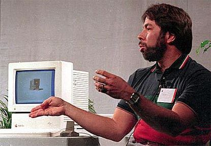 Steve Wozniak, creator of Apple's first product, introduces the Apple IIgs in 1986. Now 52, he said in Baltimore that computers always were his forte.