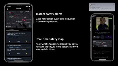 """""""Citizen is a new technology that sends real-time safety alerts directly to your phone, available as a free app for anyone to use,"""" according to a news release."""