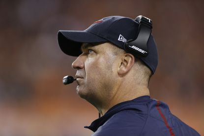 Houston Texans coach Bill O'Brien in the second half of a game against the Cincinnati Bengals.