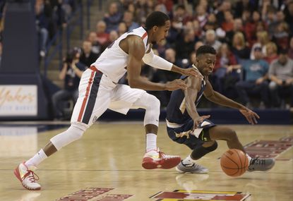 State college basketball roundup: Joyce's 30 lift UMBC, 81-72; Mount routed by No. 10 Gonzaga
