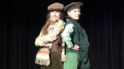 """The musical """"A Year with Frog and Toad Kids"""" will be presented at the Carroll Arts Center on Friday at 7 p.m., Saturday at 1 and 4 p.m. and Sunday at 1 p.m."""