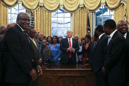 Leaders of Morgan State, Bowie met with Trump to discuss HBCUs