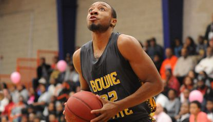 Justin Beck, a Calvert Hall graduate from Ellicott City, is a senior at Bowie State.