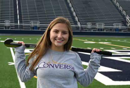 Bel Air High School senior Josie Mason recently signed her letter of intent to attend Converse College in South Carolina to play field hockey and study biology.