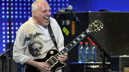 Musician Peter Frampton, shown in a 2008 file photo, said that he was treated for a rare degenerative muscle disease at Johns Hopkins.