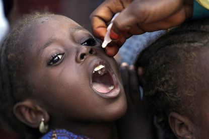 Nigeria's urgent polio vaccination drive targets 25 million