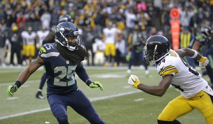 Few quarterbacks throw in Richard Sherman's direction, but it will be interesting to see howRavens wide receiver KamarAiken plays against perhaps the top cornerback in the game.