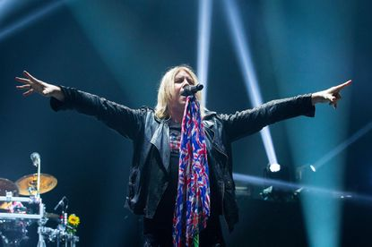 Def Leppard, with frontman Joe Elliott, will perform at Royal Farms Arena Friday night.