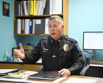 Chief of the Bel Air Police Department Charles A. Moore Jr. was place on administrative leave because of a temporary protective order placed on him Jan. 28, the town announced.