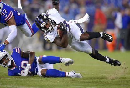 The Ravens waived running back Taquan Mizzell Saturday despite leading the team in rushing during the preseason.