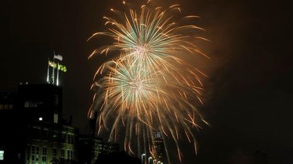 Baltimore's annual New Year's Eve fireworks spectacular is set for tonight at the Inner Harbor.
