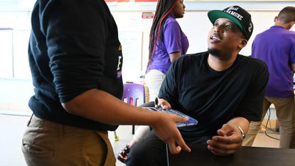 Baltimore author D. Watkins can't stop, won't stop helping kids as he promotes his latest book
