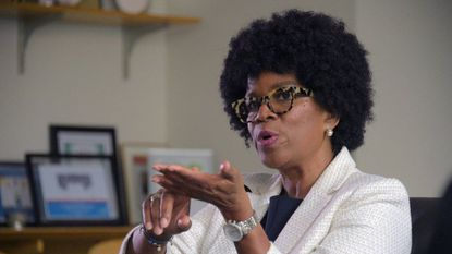 Maryland election officials say they do not have enough time to print new ballots to include Valerie Ervin's name as a gubernatorial candidate because the paper needed to print the forms can not be delivered in time.
