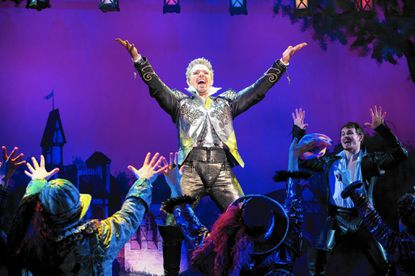 """Adam Pascal and the national touring cast of """"Something Rotten!"""""""