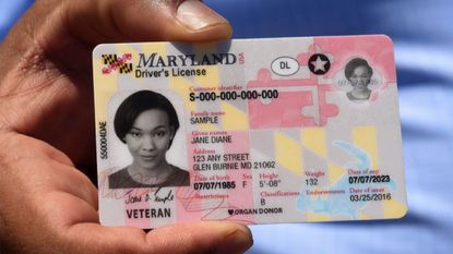 Maryland drivers with a driver's license like the one pictured above must file identification and residency documents with the Motor Vehicle Administration to be compliant with the federal REAL ID law.