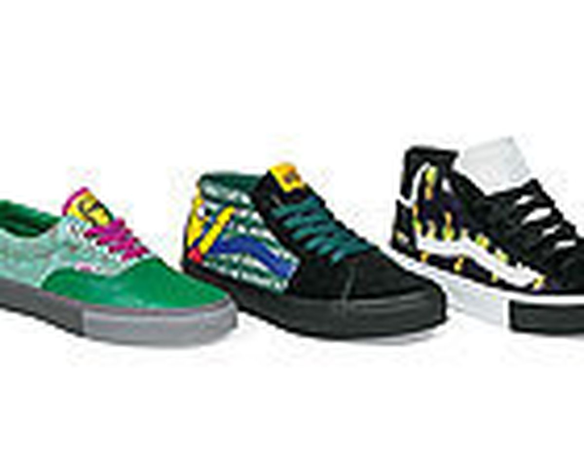 Vans Hits A Homer With The Simpsons Movie Shoe Tie In Baltimore Sun