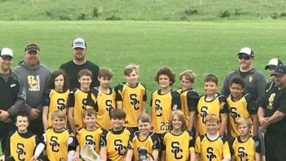 South Carroll Cavaliers boys lacrosse Lightning B Division team.