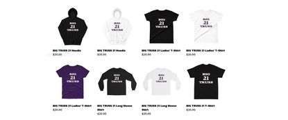 "Las Vegas-based apparel maker Lance Roehl's online store sells ""Big Truss"" shirts and sweatshirts, which he has applied to trademark."