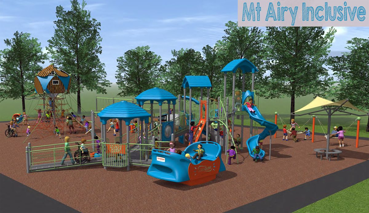 In memory of Mount Airy mother killed in April, town moving forward with all-inclusive playground plan