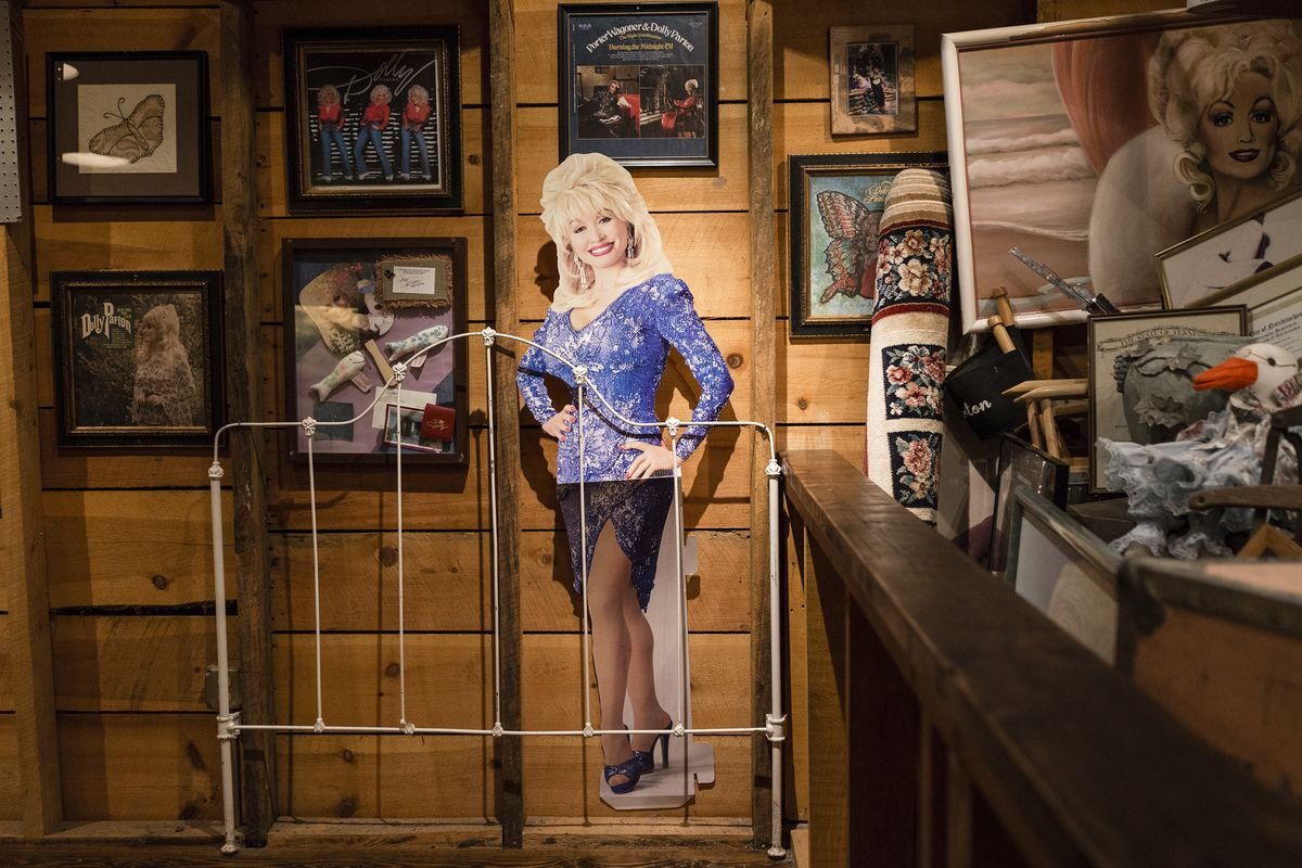 Confederate symbols are coming down. Should Dolly Parton go up instead?
