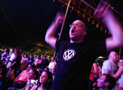 An Everclear fan at HFStival 2010