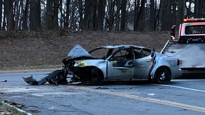 Two people, including 21-year-old man, killed in separate crashes overnight in Maryland
