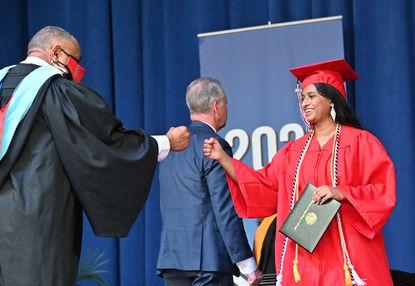 Glenelg's Class of 2021 High School graduation at Merriweather Post Pavilion Thursday June 3, 2021