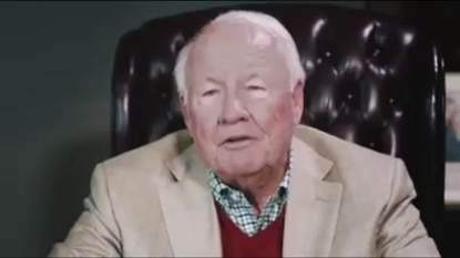 Former State Sen. Frank Kelly appears in an ad for Catherine Pugh talking about racism