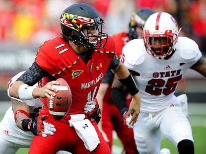In new system, Maryland quarterbacks working to learn, improve